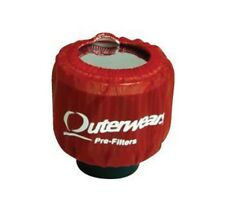 Outerwear Red Shielded Breather Pre Filter Dirt Racing UMP IMCA Outer Wear
