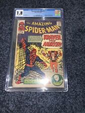 Amazing Spider-Man 15 CGC 1.8 1st Appearance Of Kraven The Hunter Marvel 1964