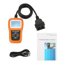 Mini VAG505 For VW AUDI Code Scanner ABS AIRBAG SRS Diagnostic Tool Reset Engine