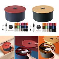 24Pc Nadel & Faden Sewing Kit Set Hause Wesentliche Pins Band Schere für