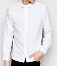 Camisas casuales de hombre en color principal blanco talla M