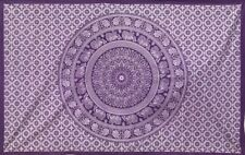 Purple Indian Mandala Wall Hanging Tapestry Bedding Decor Double Table Cloth UK