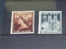 [ZZA-076]  -  Isole Cook  - 1953 : Incoronazione - Val.  2  - MNH **