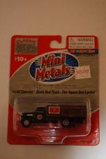 HO Mini Metals 30354 * 41/46 Chevrolet Stake Bed Truck, Four Square Deal Lumber