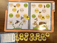 Firefly Facts Addition to 5 Math File Folder Game Center Kindergarten