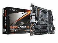 GIGABYTE B450 AORUS M (AMD Ryzen AM4/M.2 Thermal Guard Micro ATX Motherboard