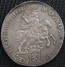 PAYS-BAS HOLLAND DUCATON 1793 ARGENT