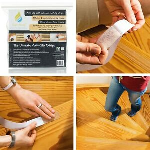 Non Slip Stair Treads Tape High Grip Adhesive Strips for Staircase Flooring Tile