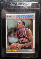1987 FLEER #106 ISIAH THOMAS DETROIT PISTONS HOF PACK FRESH NM-MT