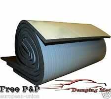 2m² (22sq.ft) CAR VEHICLE SOUND DEADENING MATERIAL PROOFING INSULATION PADS 10mm