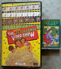 ABC KIDS VERY FUNNY PETER COMBE VIDEO SHOW Plus Christmas Album cassette tape