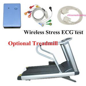 CONTEC 8000S Wireless stress ECG Analysis System, 12Lead ECG Recorder wireless