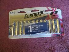Energizer Ultimate Lithium AA Batteries 12 Pack L91SBP-12 Exp.12-2037