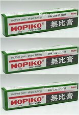 Mopidick Mopiko Ointment SOOTHE Insect Mosquito Bites 20g x 3 pcs