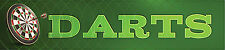 "Reminisce DARTS 2"" x 10"" Title Sticker scrapbooking DARTBOARD"