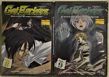 DVD Lot X2 Get Backers GetBackers 8 Mementos & Monkeys 9 Limitless Fortress NEW