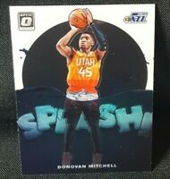 2019-20 Donruss Optic Basketball Donovan Mitchell Splash Insert SP Utah Jazz #9