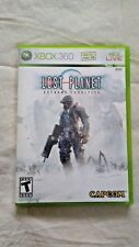Xbox 360 Lost Planet Extreme Condition Teen 2006 Capcom Online Multiplayer