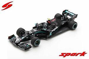 1:18 2020 Valtteri Bottas -- Mercedes-AMG Petronas F1 W11 -- Spark