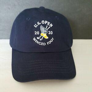 US OPEN WINGED FOOT 2020 GOLF HAT CAP ADJUSTABLE STRAP USGA MEMBER NEW