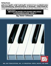 Espagnol / anglais méthode de piano, de niveau 1