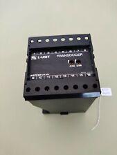 M System L Unit Transducer LCE-5A-F 5A 20MA 120V