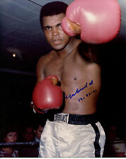 MUHAMMAD ALI - Great Color Photo - SIGNED