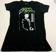New NWOT Womens Black Buffy the Vampire Slayer Angel Spinoff Cotton Tee Tshirt M