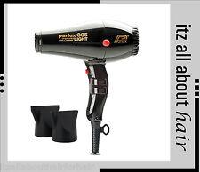 PARLUX 385 LIGHT Hair Dryer Ceramic & Ionic Super Compact Black