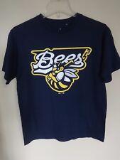Vintage MiLB Minor League Baseball Burlington Bees Youth L T-Shirt by Majestic