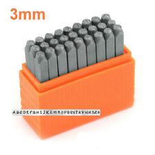 Basic Metal Stamp Set Bridgette UPPERCASE Numbers 3mm (SCE1215-3mm)