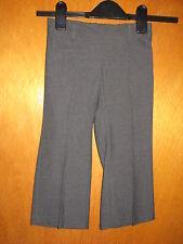 "M&S Adjustable Waist Pull-On Bootleg Trousers 3yrs 98cm W20.5"" Grey BNWoT"