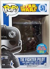 Funko Pop Vinyl Tie Fighter Pilot Star Wars NYCC 2015 Comic Con