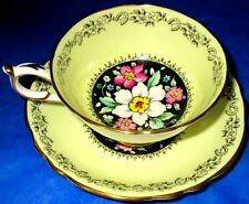Paragon SCARSE Fortune Bringing Horseshoe Chintz Cup and Saucer, ca 1940s