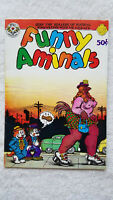 Funny Animals Robert Crumb Underground Comic1972 Near Mint 1st Edition #1 Print