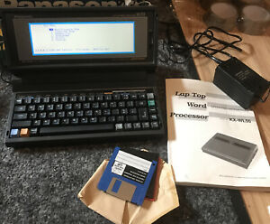 Panasonic word processor KX-WL55 Working Original Box
