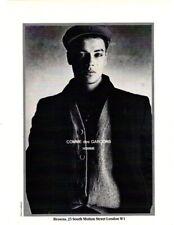 6f35416ae2122 80s Comme des Garcons men Peter Lindbergh vintage fashion advert Browns  London