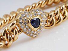 Armband 1,70 Karat Brillanten Saphir 585 Gold ca. 5.700,- EUR