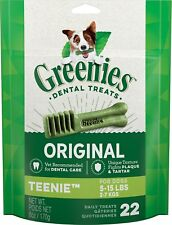 Greenie Smart Treat for Dogs Teenie 22 pack(Free Shipping in USA)