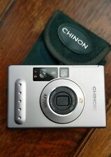 Retro Chinon AP700S  Point & Shoot Camera & Case Rare Compact