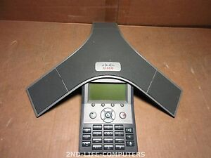 Cisco CP-7937G IP Conference Station 7937 VoIP Phone Telefon Telephone EXCL PSU