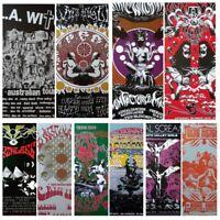 Gig Poster Lot, poster lot,psychedelic poster lot,concert poster lot S/N prints