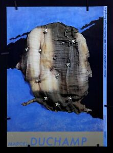 Marcel Duchamp- Allegorie de Genre (George Washington, 1943) - Exhibition poster