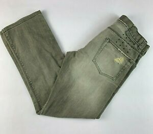 "Ksubi Dee Dee Worn Grey Denim Men's Jeans (Tag Sz W30) Actual Size W32"" L29"""