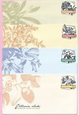 AUSTRALIA 1986 Set of 4 PSE's - Unused - FLORA OF COOK'S VOYAGE - Pristine