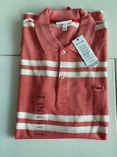 Lacoste Shirt Brand New 100% Original Men's Shirt Regular Fit Size XL / 6