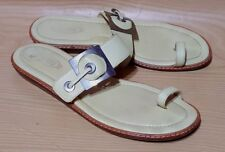 Tod's Womens Sandals Slip On Slides Shoes Size 9 / 39