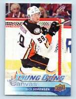 2016-17 Upper Deck Young Guns Canvas Nick Sorensen #C119