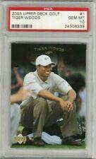 Tiger Woods 2003 Upper Deck UD Golf #1 PSA 10 Gem Mint *POP 22*