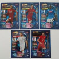 2019/20 Match Attax UEFA Soccer Cards - Set of 100 Club cards Hazard Lewandowski